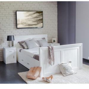 Doppelbett 200x200 cm mit Schubladen