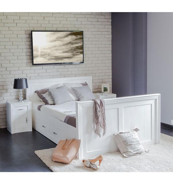 doppelbett 200x200 cm modern lattenrost 2 schubladen. Black Bedroom Furniture Sets. Home Design Ideas