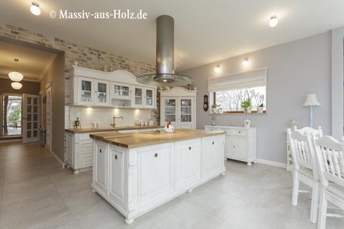 Landhausküche in Weiß - Kundenbestellung
