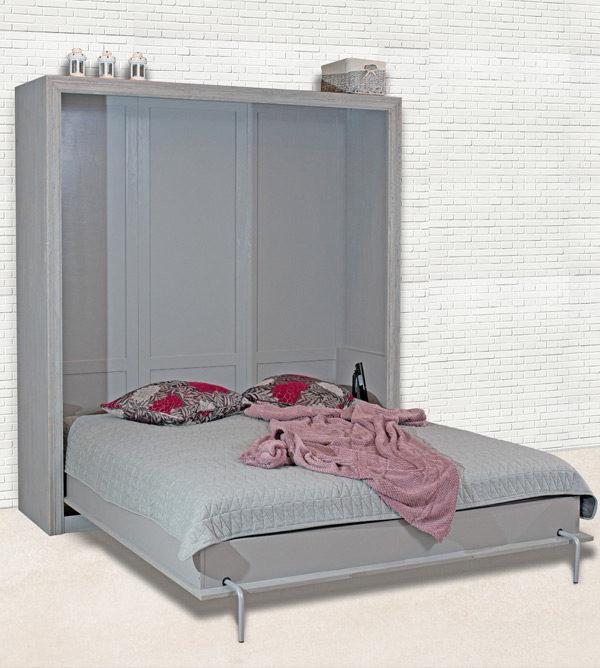 Schrankbett schlicht 160x200 cm