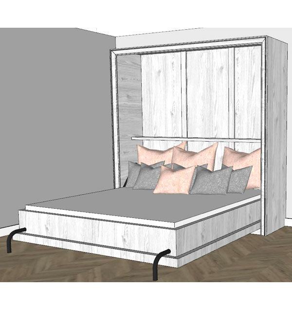 Schrankbetten und Klappbetten aus Holz hochwertig nach Maß