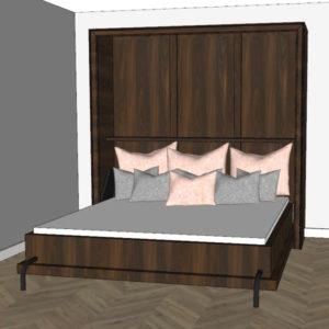 Schrankbetten in allen Matratzengrößen von 90 bis 200 cm, Anpassung des Schrankbettes nach Wunsch