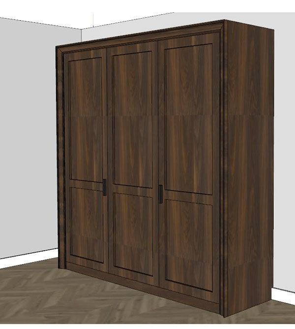 Schrankbetten in jeder Matratzengröße, hochwertig aus Massivholz