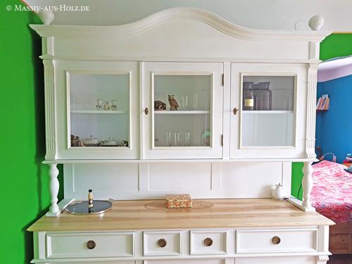 Altbauhaus - Möbel individuell in massiv Kiefer und Esche natur geölt