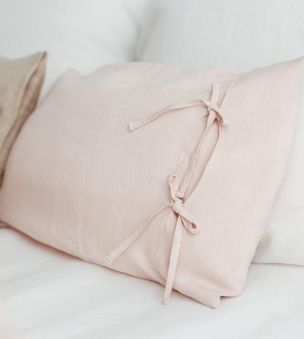 Linen zertifiziert aus Europa rosa