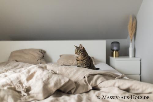 Bettdecke Bezug aus 100% Leinen