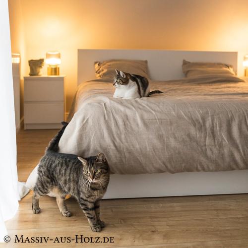 Bettbezug aus 100% Leinen - Decke, Kissen, Bettlaken